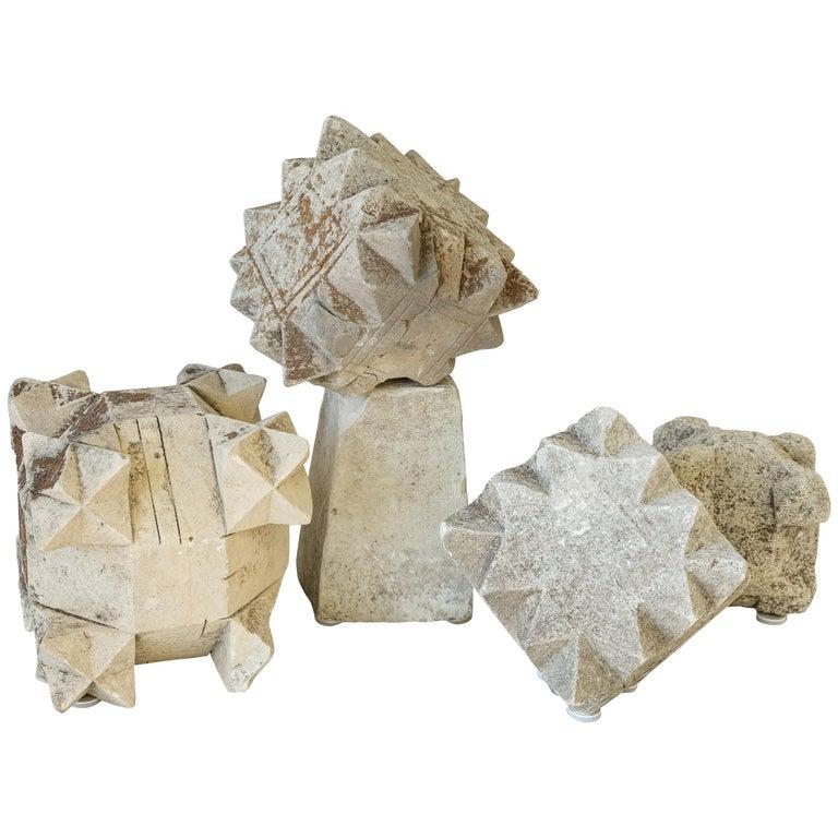 Witches' stones, or <i>pierres de sorcières</i>, 1650