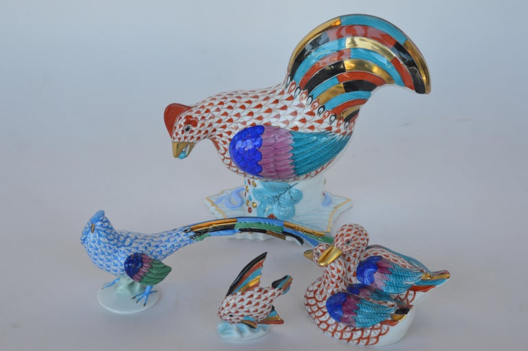 20th Century Collection of Herend Animals For Sale