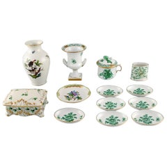 Collection of Herend Porcelain, Mid-20th Century