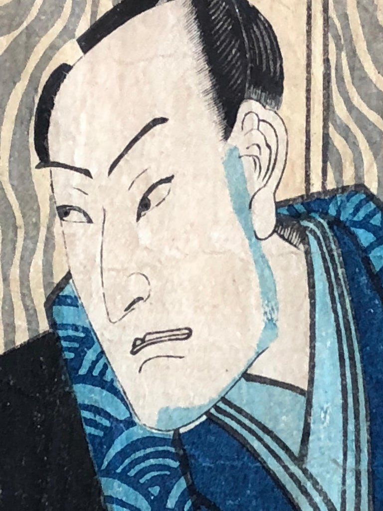 Collection of Japanese Wood-Block Prints, 19th Century In Good Condition For Sale In Doylestown, PA