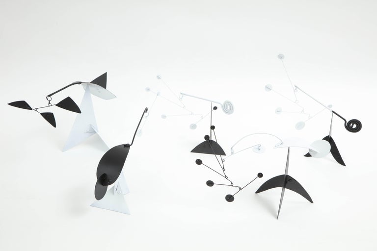 Contemporary Collection of Jim Hunter Tabletop Mobiles, 2018 For Sale