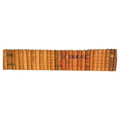 Collection of Leather Bound Books, Series 109