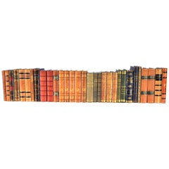 Collection of Leather Bound Books, Series 112