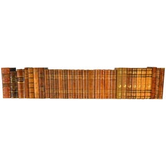 Collection of Leather Bound Books, Series 114
