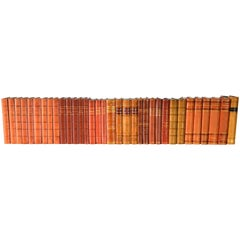 Collection of Leather Bound Books, Series 116