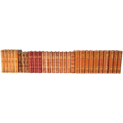 Collection of Leather Bound Books, Series 118