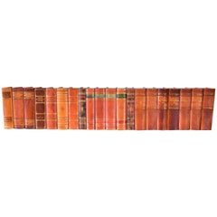 Collection of Leather Bound Books, Series 119