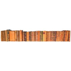 Collection of Leather Bound Books, Series 123