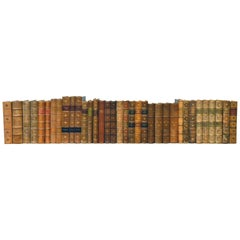 Collection of Leather Bound Books, Series 128
