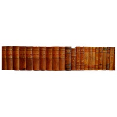 Collection of Leather Bound Books, Series 202