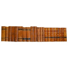 Collection of Leather Bound Books, Series 204