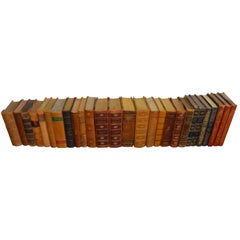 Collection of Leather Bound Books, Series 205