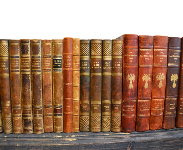 Collection of Leather Bound Books, Series 206 In Good Condition For Sale In London, GB