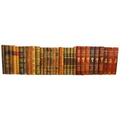 Collection of Leather Bound Books, Series 206