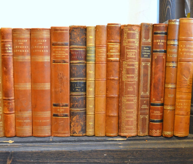 Collection of Leather Bound Books, Series 207 In Good Condition For Sale In London, GB