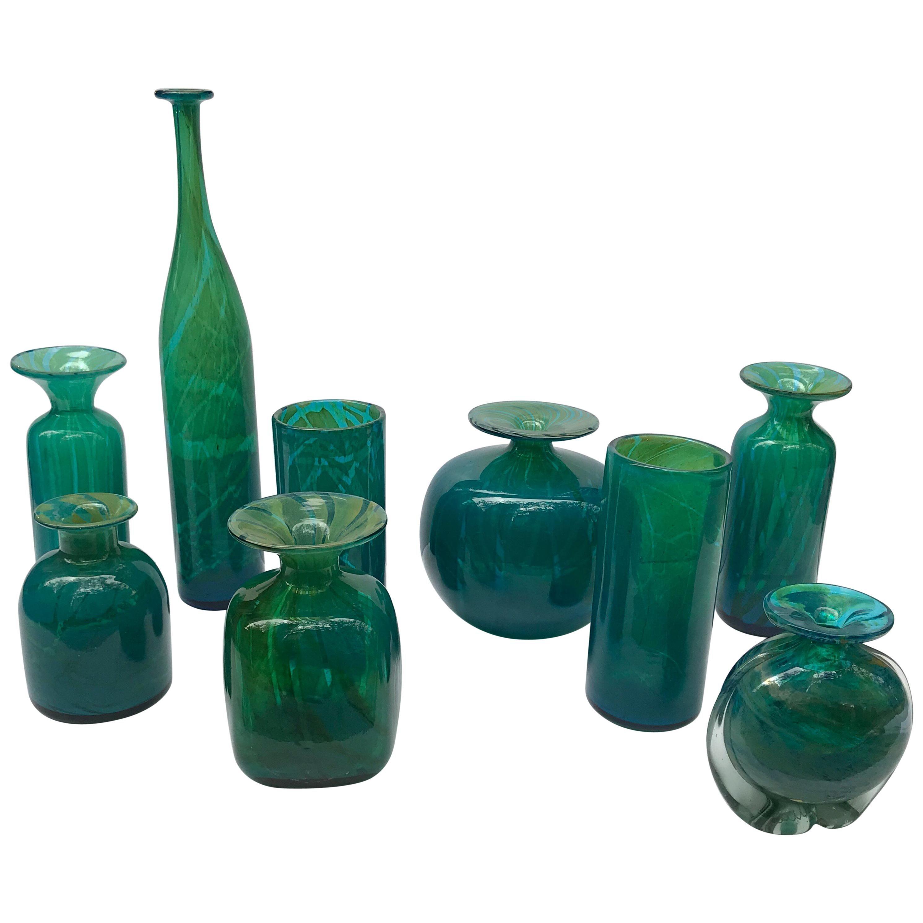 Collection of Maltese Studio Glass