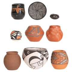 Collection of Miniature Southwest Pottery
