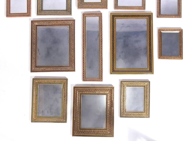 Islamic Collection of Moroccan Mosaic Framed Mirrors For Sale