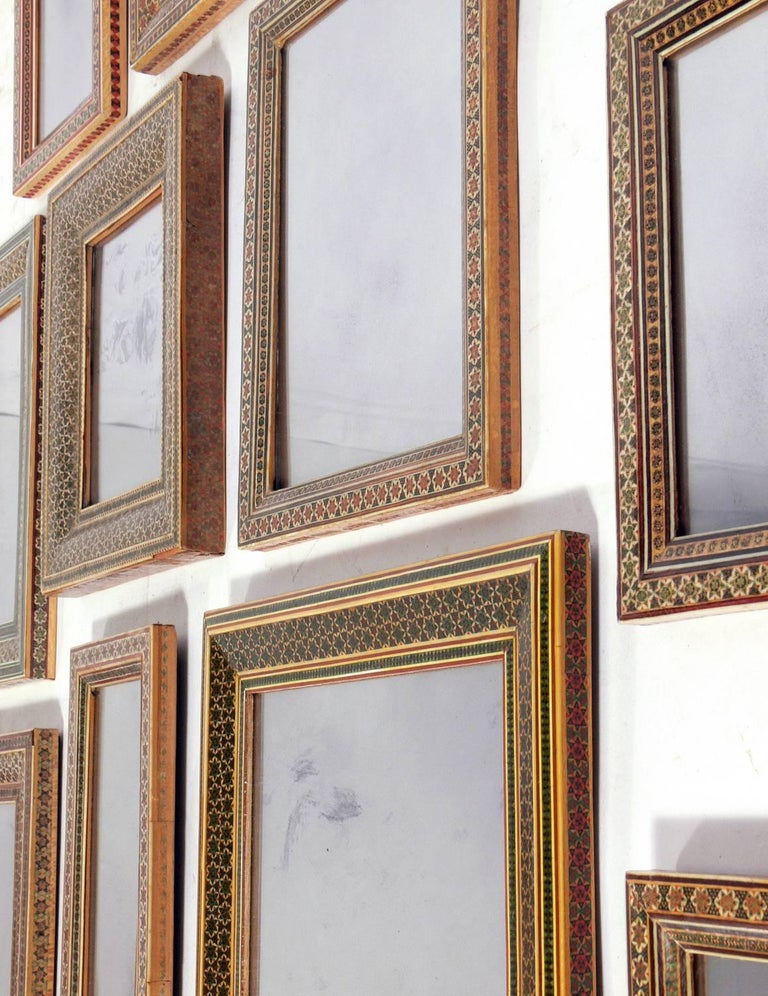 Collection of Moroccan Mosaic Framed Mirrors For Sale 3