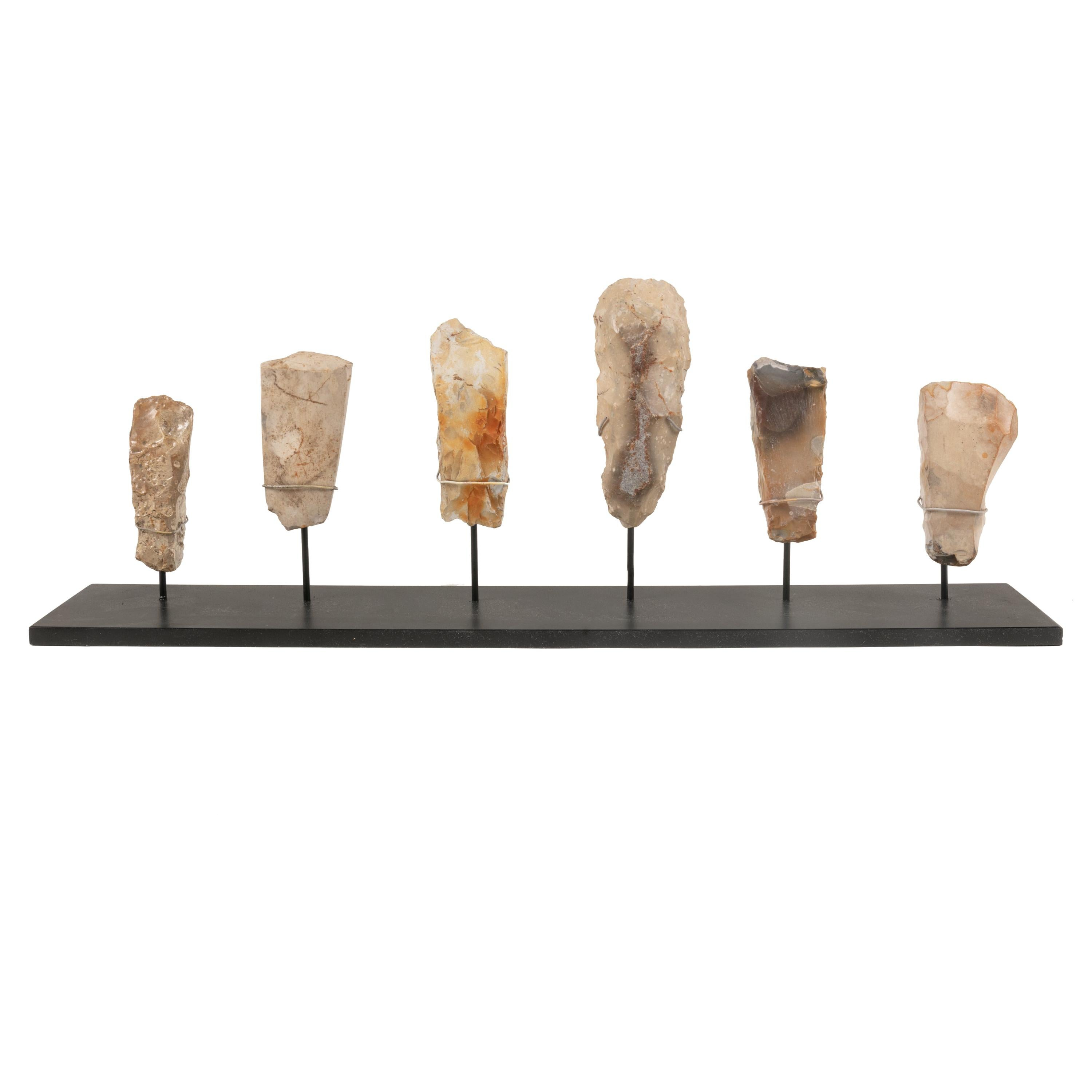 Collection of Neolithic Flint Stone Tools, Scandinavia 1900 BC
