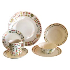 Collection of Piemonte Dinnerware by Emilio Pucci for Rosenthal Studio Line