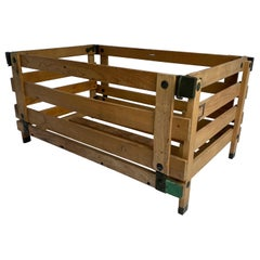 Collection of Rustic American Vintage Collapsible Crates