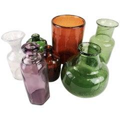 Collection of Seven Vases by Erik Hoglund
