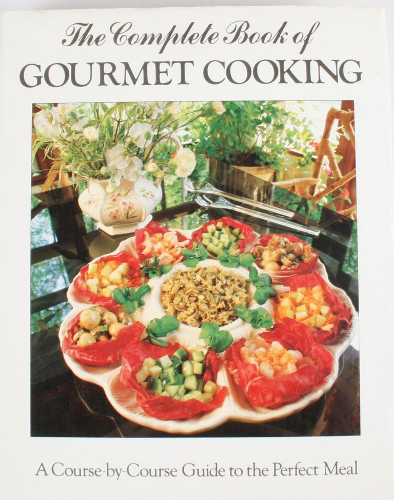 Paper Collection of Six Gourmet Cook Books For Sale