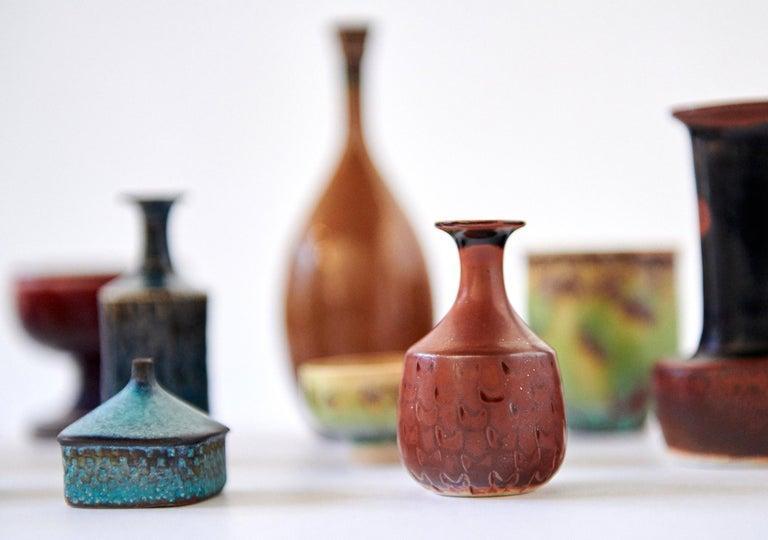 Collection of Stig Lindberg Miniature Studio Ceramics For Sale 2