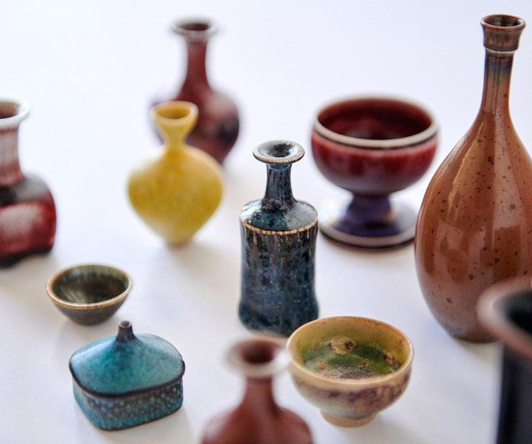 Collection of Stig Lindberg Miniature Studio Ceramics For Sale 3