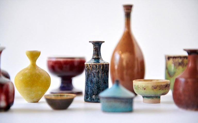 Collection of Stig Lindberg Miniature Studio Ceramics For Sale 1