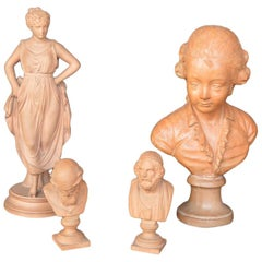 Collection of Terracotta Figurines