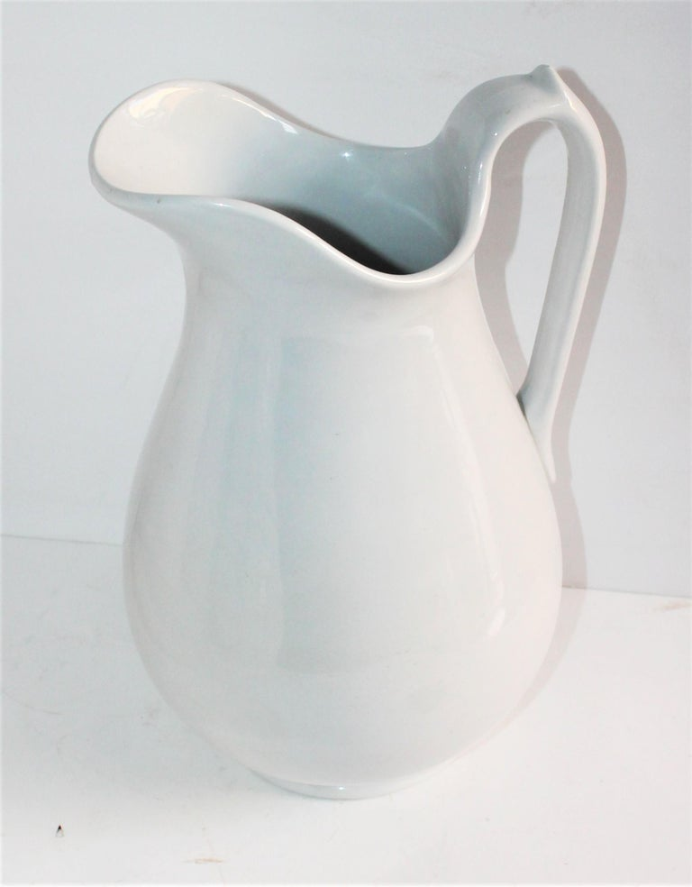 Collection of Three 19th Century Ironstone Water Pitchers For Sale 3