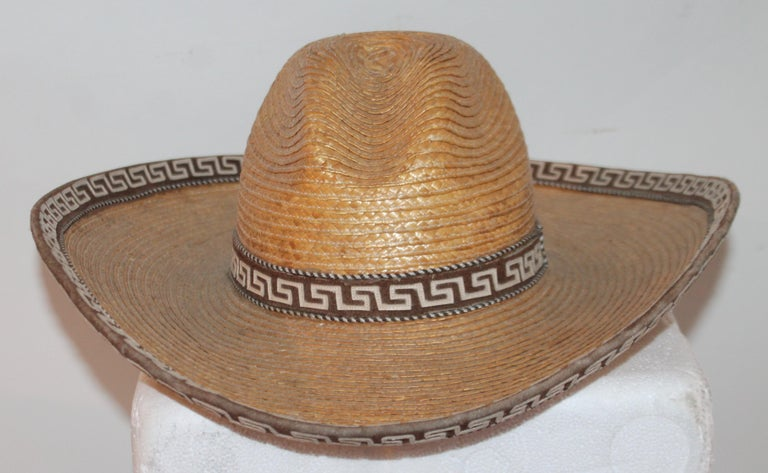 Collection of Three Handmade Sombreros For Sale 4