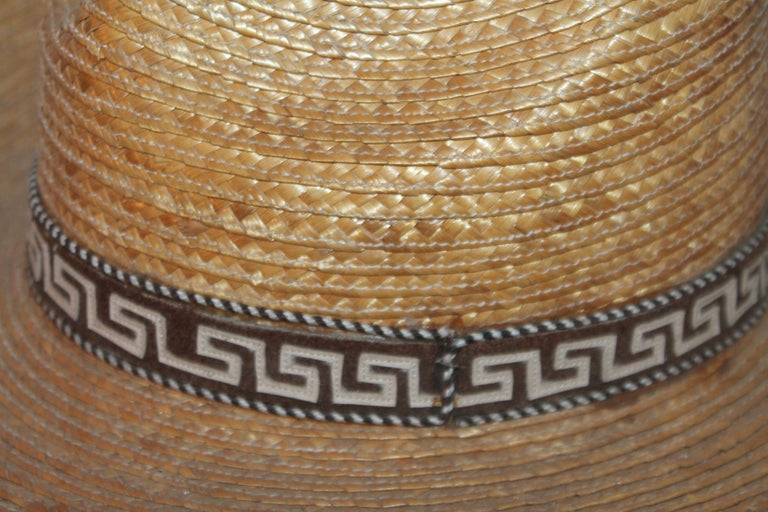 Collection of Three Handmade Sombreros For Sale 6