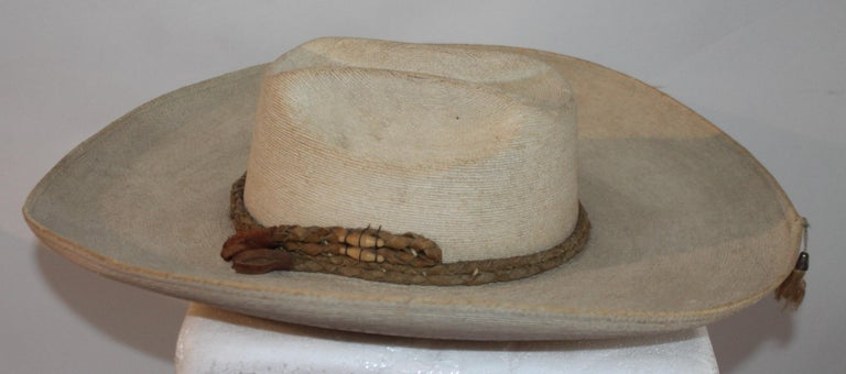 Collection of Three Handmade Sombreros For Sale 1