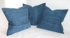 Collection of Three Homespun Linen Pillows