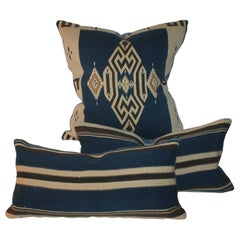 Collection of Three Tex Coco Indian Weaving Pillows, 3