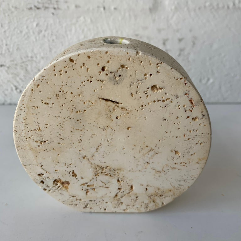 Collection of Travertine Objects by F. Lli Mannelli, for Raymor, Italy, 1960s For Sale 6