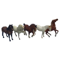 Collection of Vintage Breyer Horses