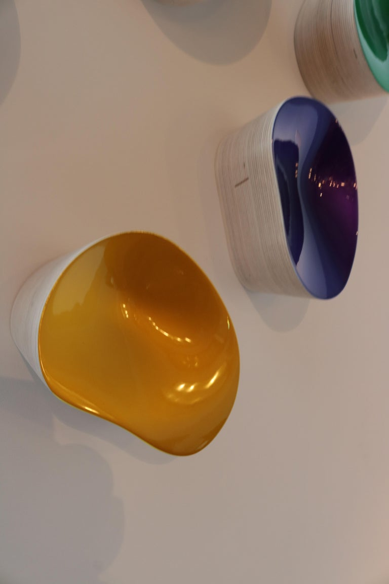 Contemporary Collection of Wall Objects by Artist Willi Siber For Sale