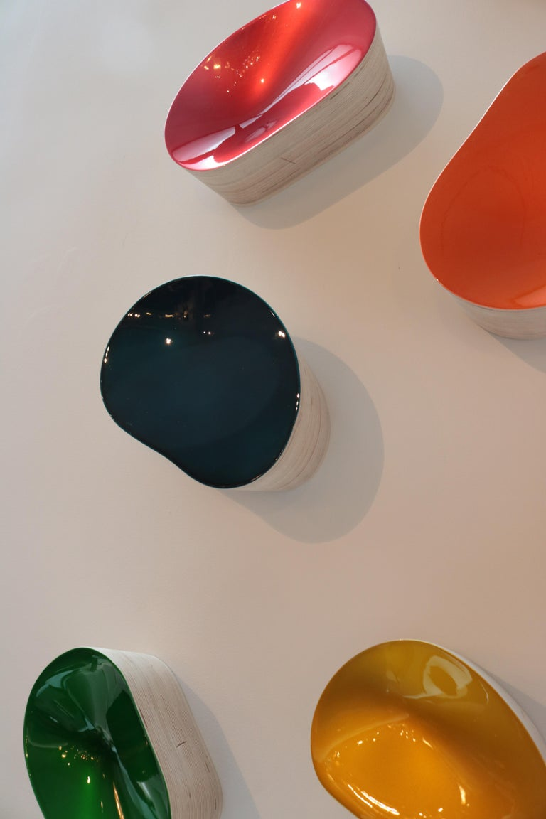 Collection of Wall Objects by Artist Willi Siber For Sale 1