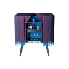Large Blue fringe bar, made in France