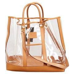 Collector LOUIS VUITTON Isaac Mizrahi Transparent Tote Bag