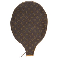 Collector Louis Vuitton Tennis Racket in monogram canvas