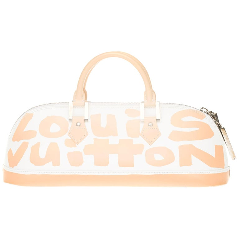 """COLLECTOR & NEW Louis Vuitton Alma GM """"Graffiti"""" handbag by Stephen Sprouse For Sale"""