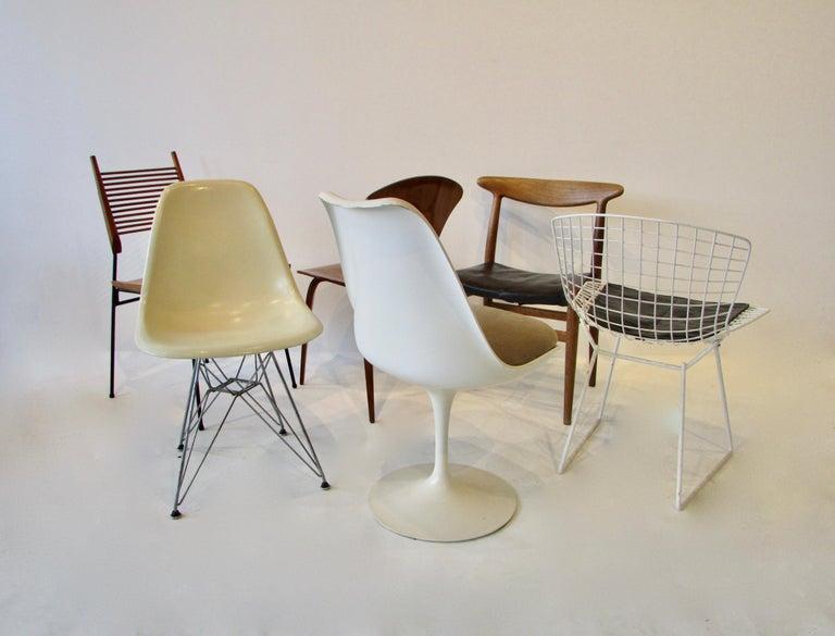 American Collector Set of Six Dining Chairs Eames Saarinen McCobb Wegner Bertoia Cherner