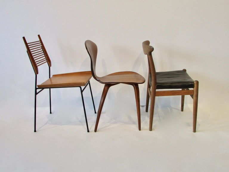Collector Set of Six Dining Chairs Eames Saarinen McCobb Wegner Bertoia Cherner In Good Condition In Ferndale, MI
