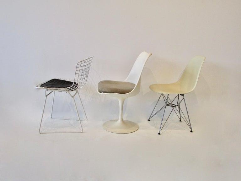 Metal Collector Set of Six Dining Chairs Eames Saarinen McCobb Wegner Bertoia Cherner