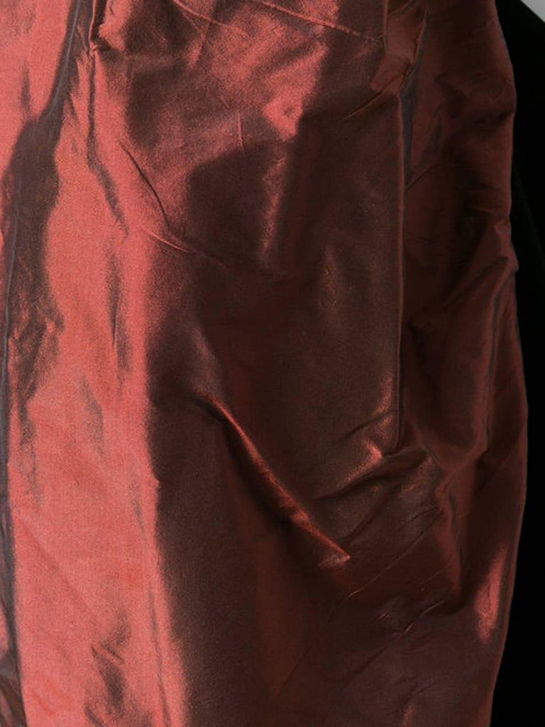 Yves Saint Laurent Velvet Corset Top  In Excellent Condition For Sale In Paris, FR